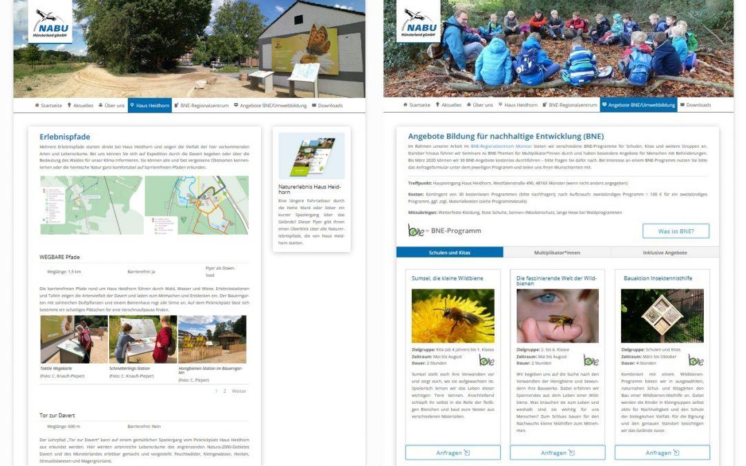 Neue Homepage im Netz!