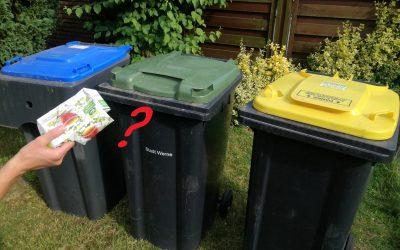 Welcher Müll in welche Tonne?