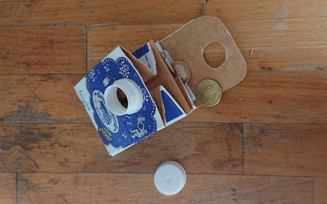 Geldbeutel aus Tetrapak