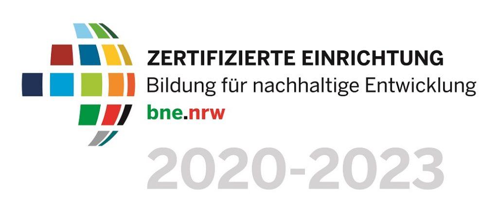 Logo des BNE-Zertifikats